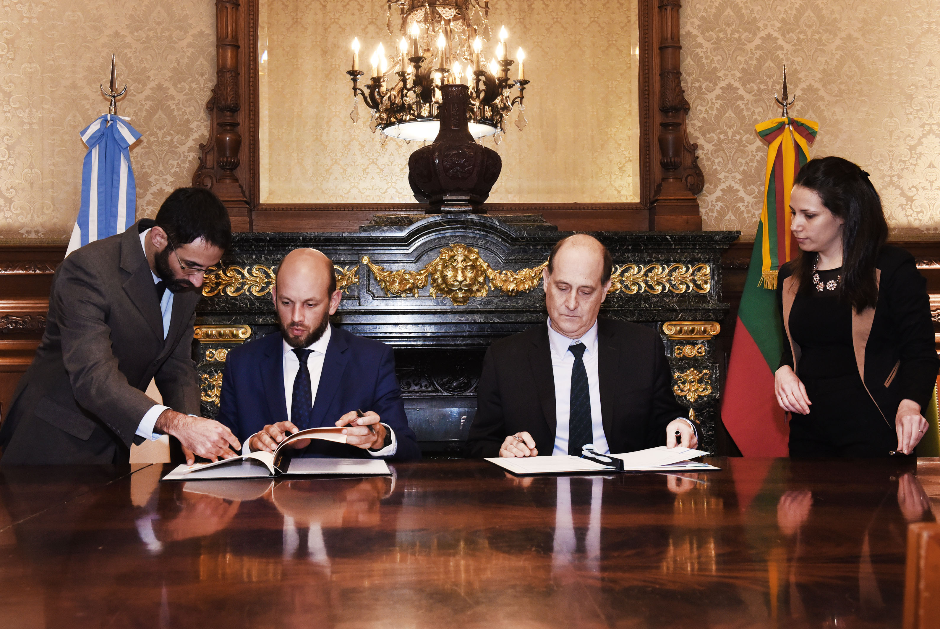 Argentina lituania reuni n de consultas pol ticas en Ministerio de relaciones exteriores y culto