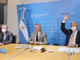 Jorge Neme_Canciller Felipe Solá_Fernando Asencio_Agencia I-COMEX La Pampa