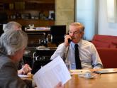 Solá conversa con PM de Granada
