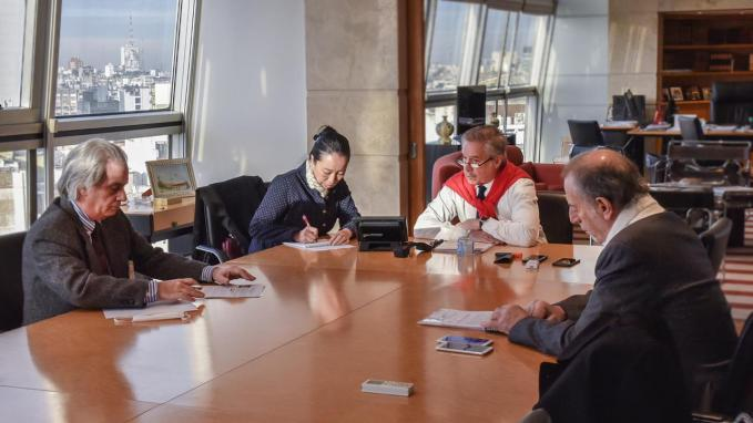 Solá y Ministro de Comercio_China