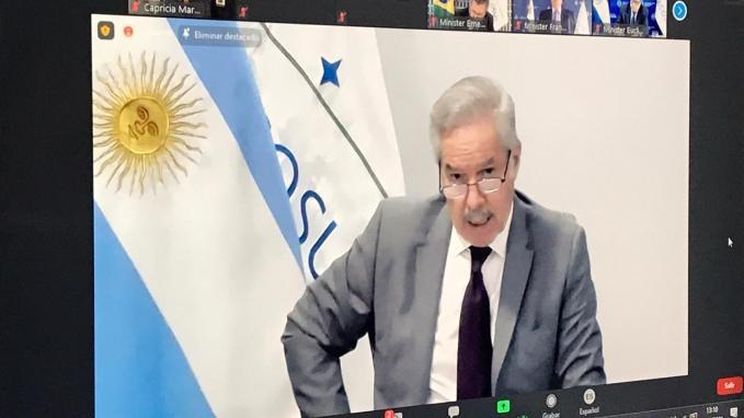 Canciller Solá en el Atlantic Council_Mercosur