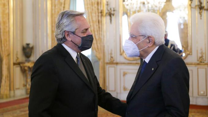 Gira presidencial_Italia