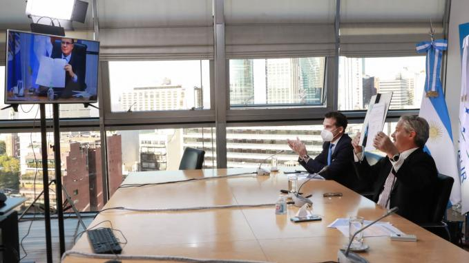 Canciller Felipe Solá_Acuerdo con el IICA