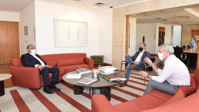Canciller Solá con gobernador Manzur