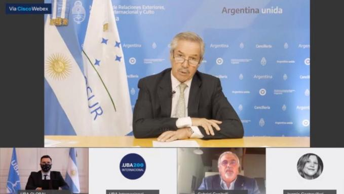 Canciller Felipe Solá_Universidades del Mercosur