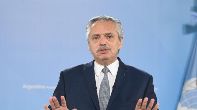 Alberto Fernández_Asamblea General de la ONU