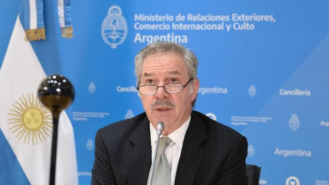 Canciller Solá_Reunión del G20