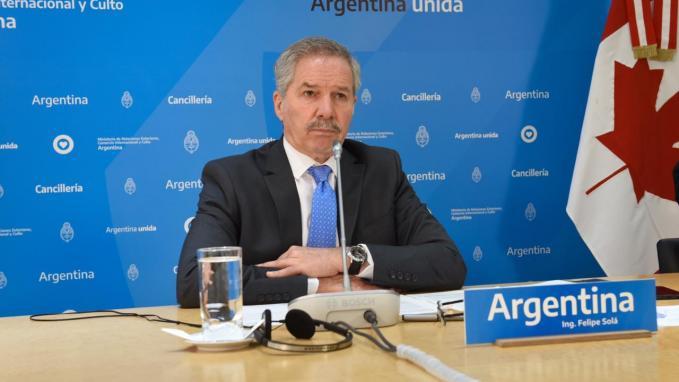 Felipe Solá_Ministra de Canadá