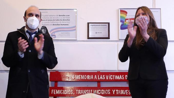 Martín Yáñez y Ornella Infante
