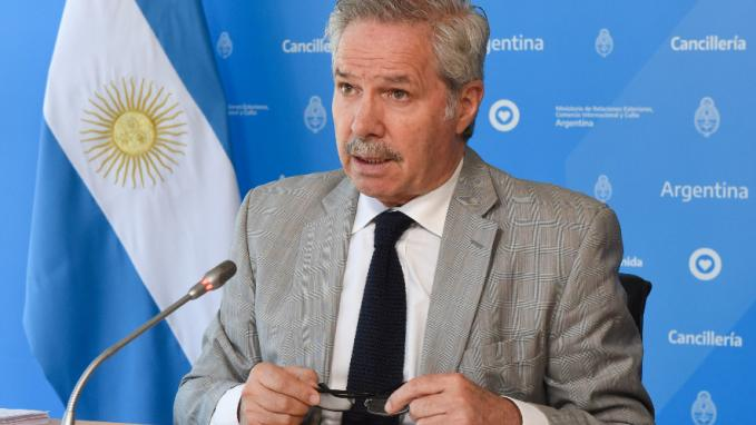 Felipe Solá en la Cumbre Iberoamericana
