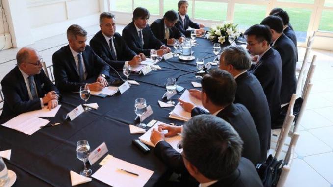 Bilateral con China – Vice Premier Hu Chunhua