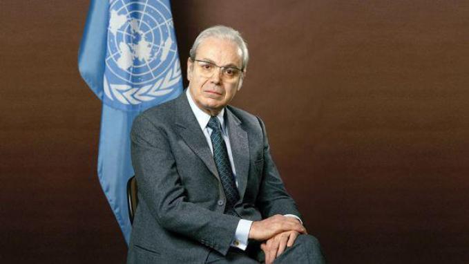 Fallecimiento de Pérez de Cuéllar: condolencias del Gobierno argentino