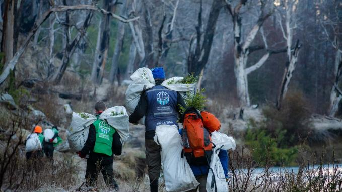 Mision ambiental en Chubut