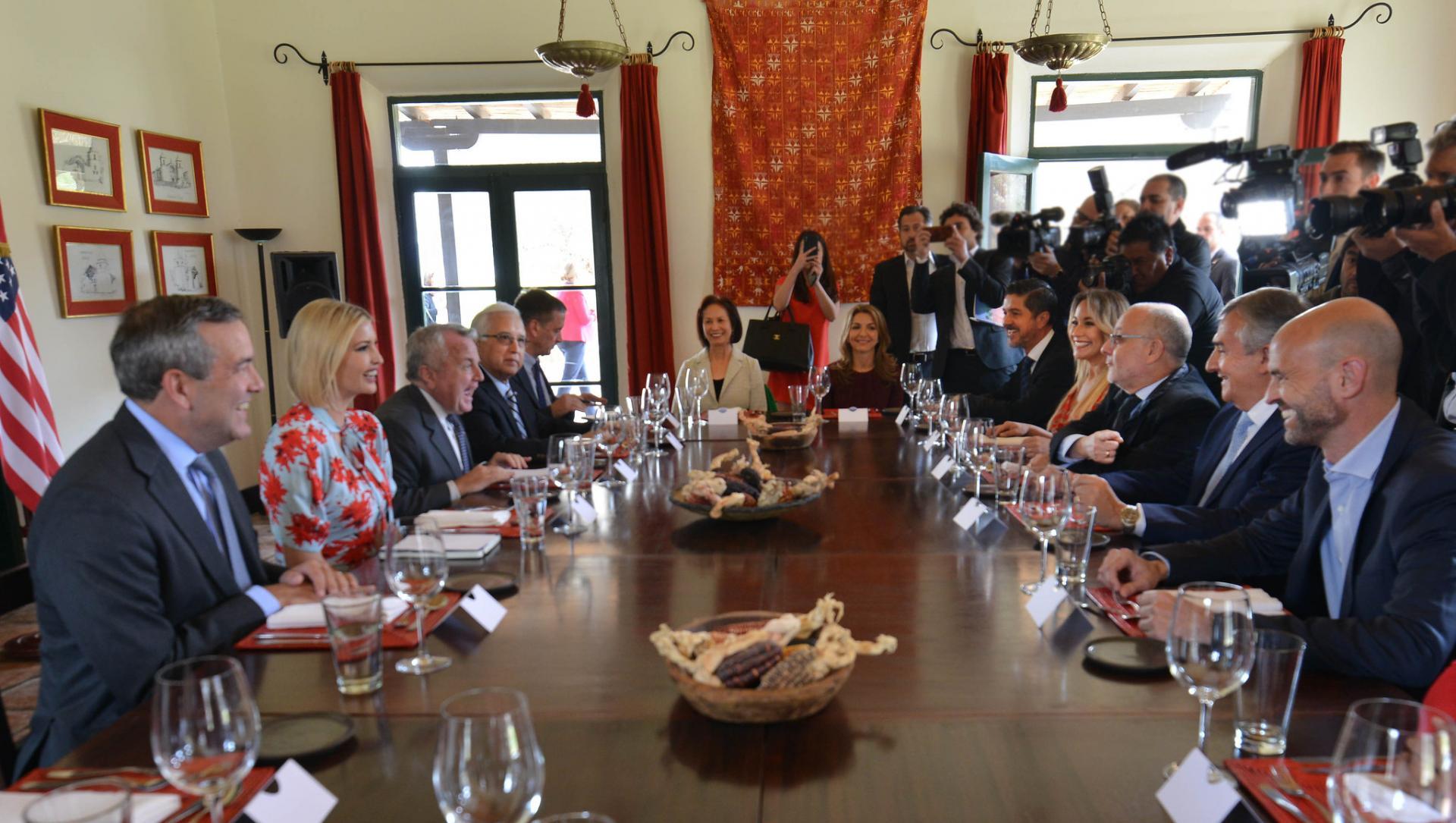 Visita A La Argentina De Ivanka Trump, Asesora Del