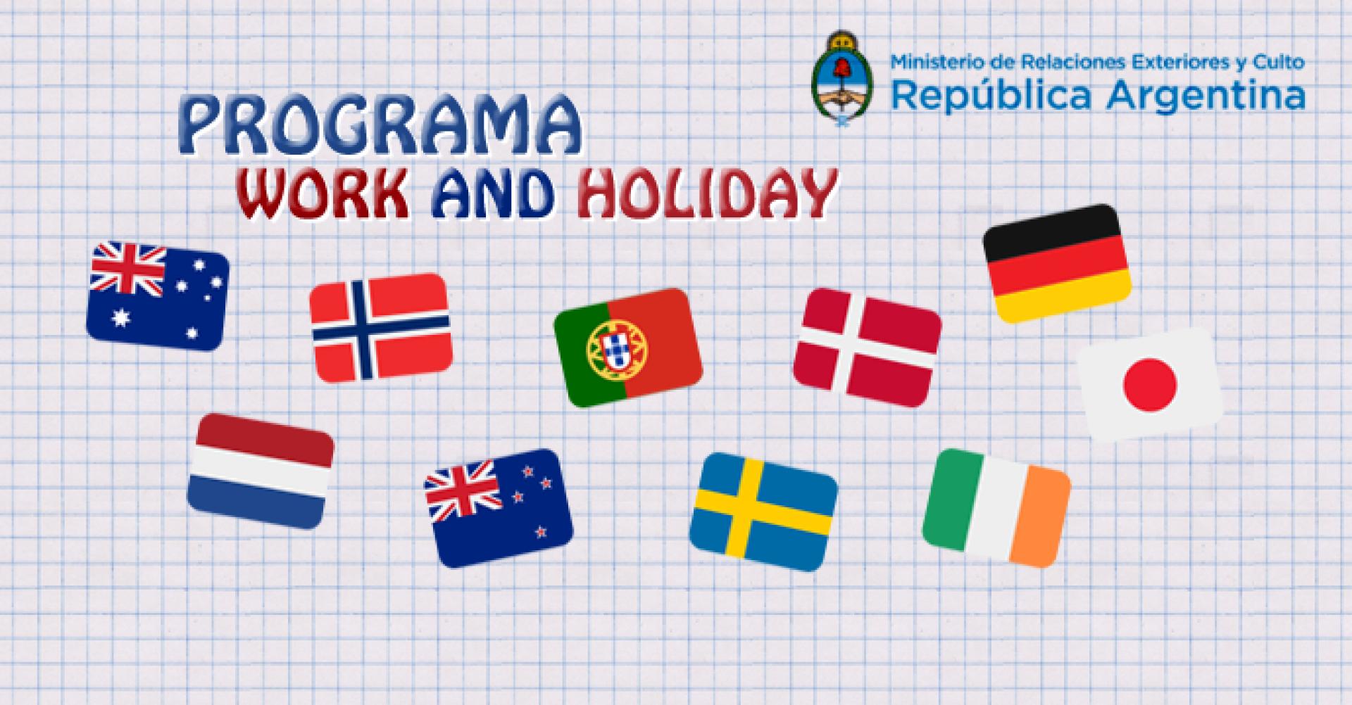 Programa De Vacaciones Y Trabajo Ministerio De Relaciones Exteriores Y Culto